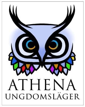 Athena-symbol med ram 300px